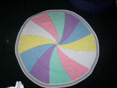 Carousel blanket small