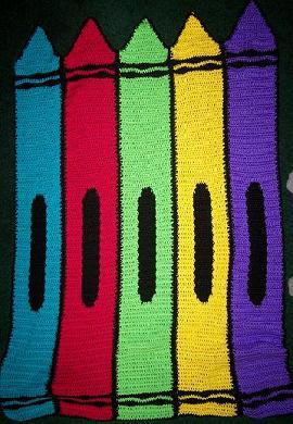 Crayon blanket small