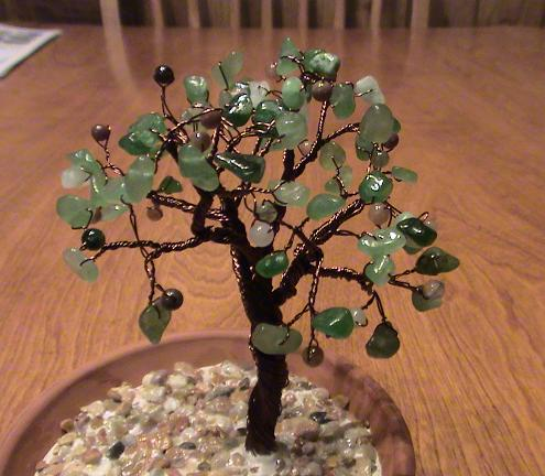 Aventurine tree small