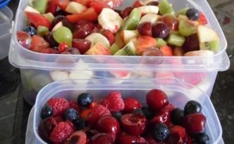 Fruit Salad Pots