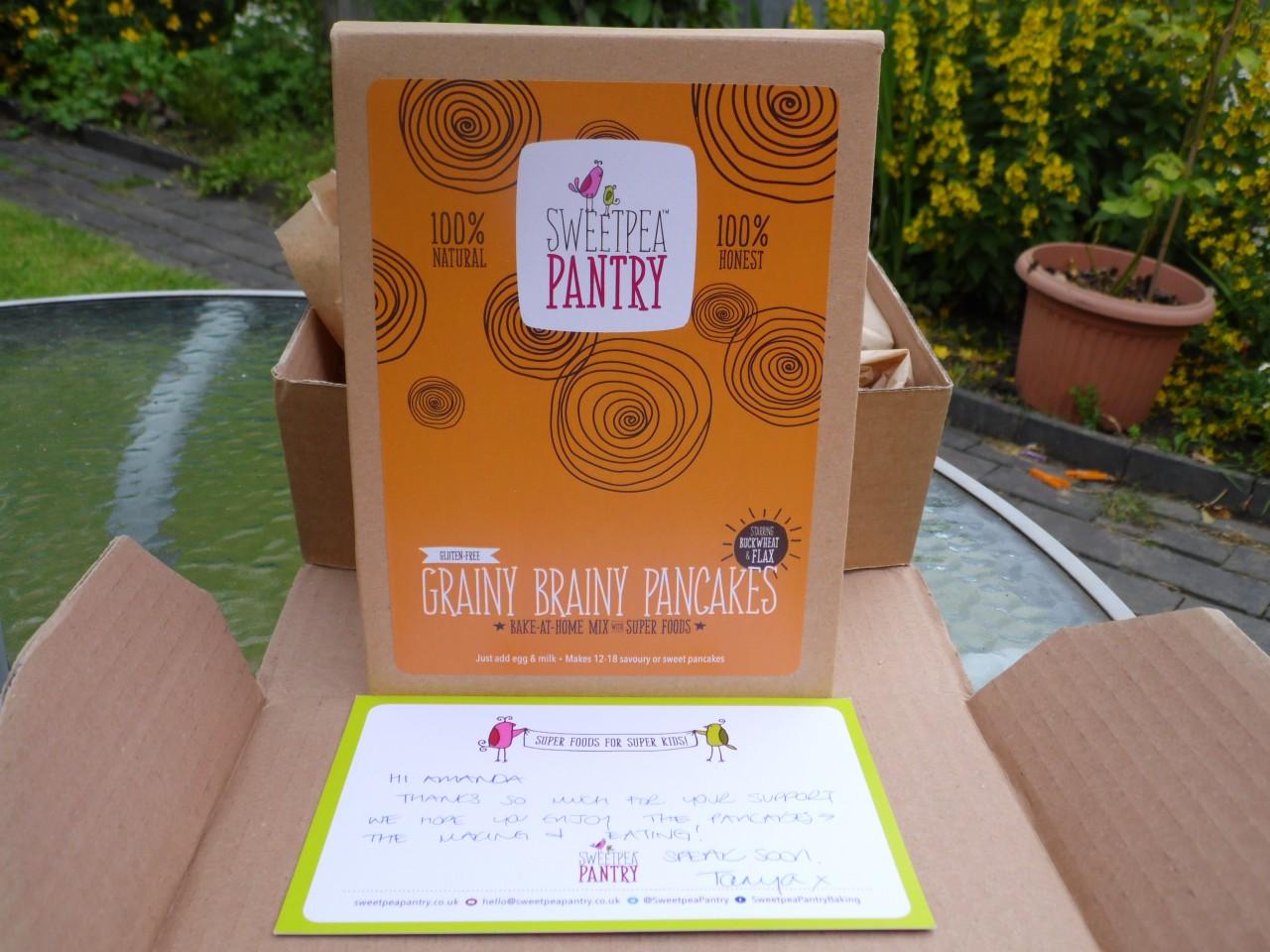 Sweetpea Pantry Grainy Brain Pancakes Mix
