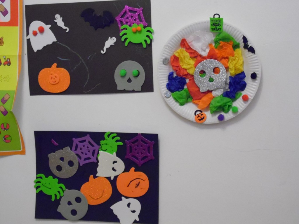 Halloween Kids Art
