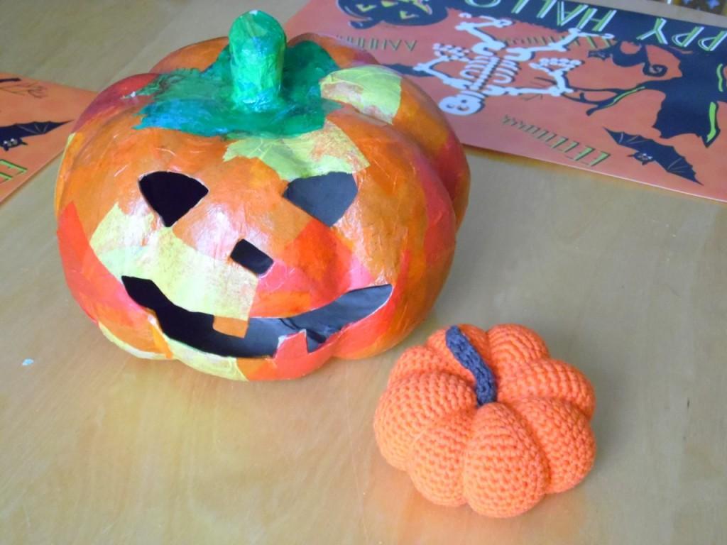 Handmade pumpkins