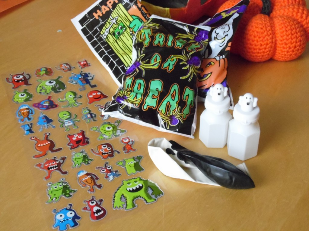 Non Food Halloween Treat Bags Teal Pumpkin Project