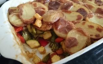 Roasted Vegetable Hot Pot Recipe