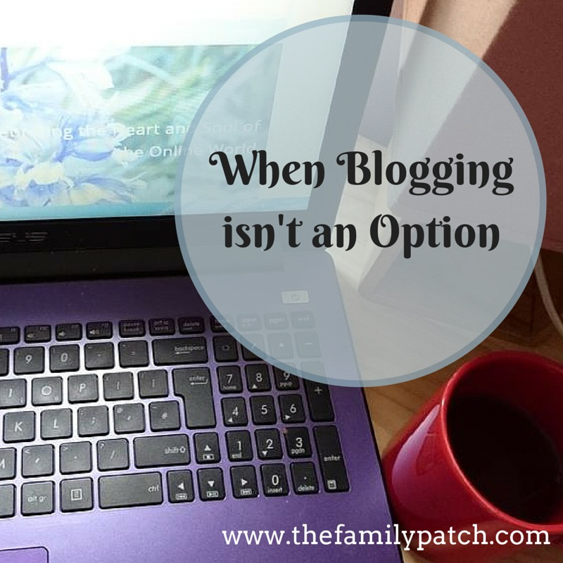 When Blogging Isn't An Option