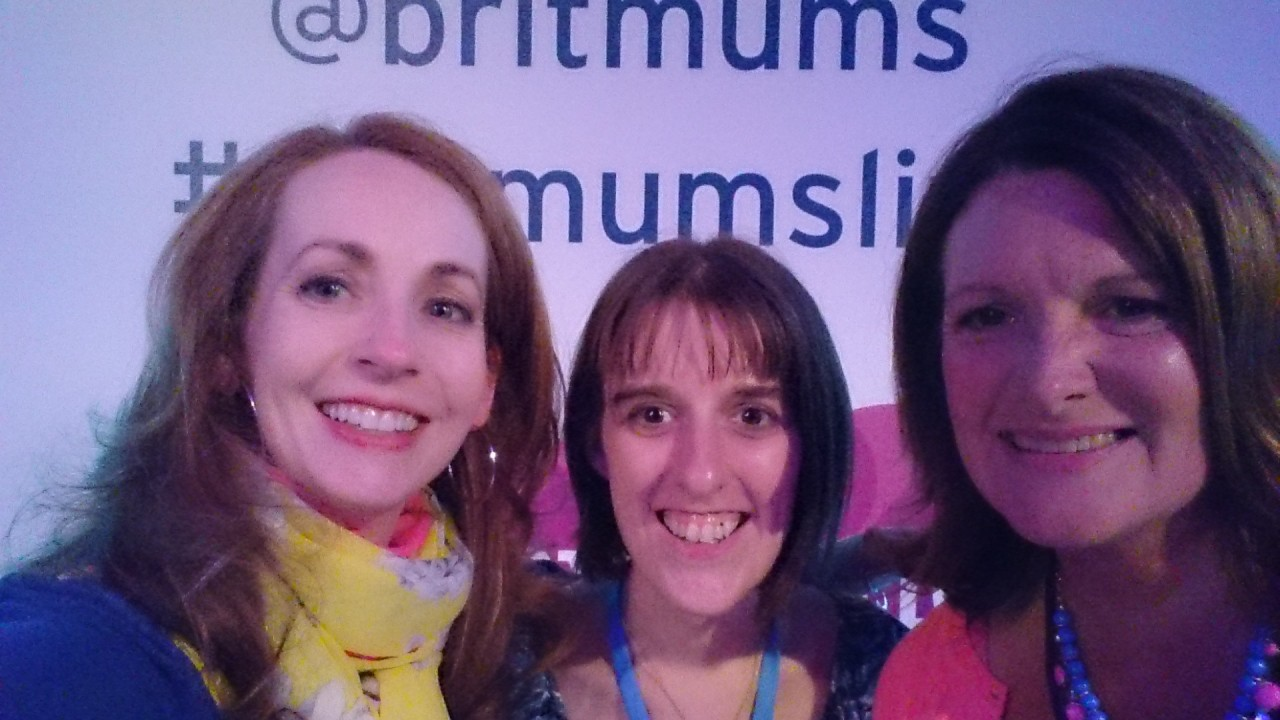 It only took until my fourth year at #britmumslive to meet the BritMums Founders Jen and Susanna!