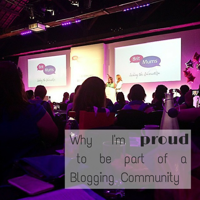 Why I'mto be part of a Blogging Community #britmumslive