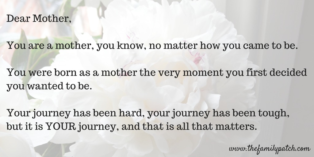 Dear Mother - a love letter about your journey