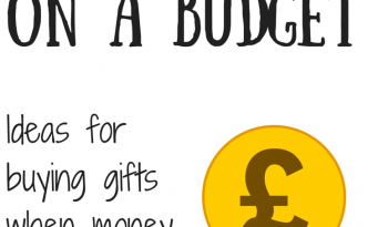 Gift Giving On a Budget - Buying Great Gifts without Breaking the Bank
