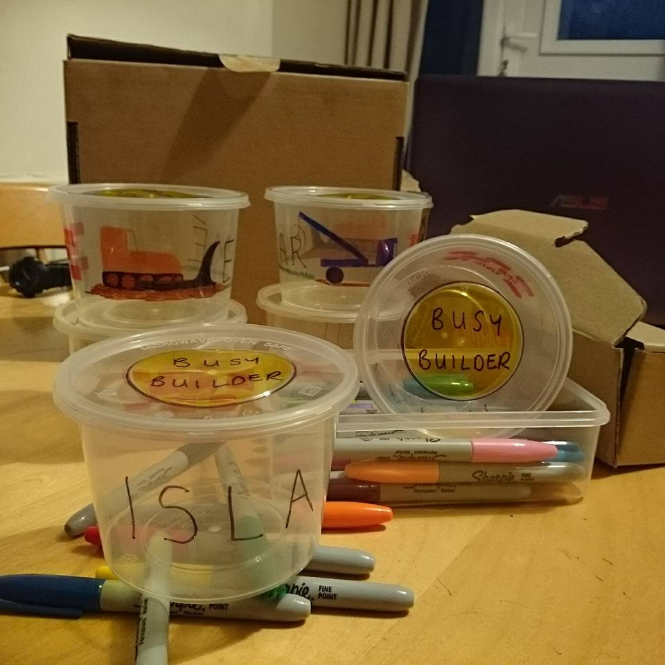 Busy Builder Lunchboxes