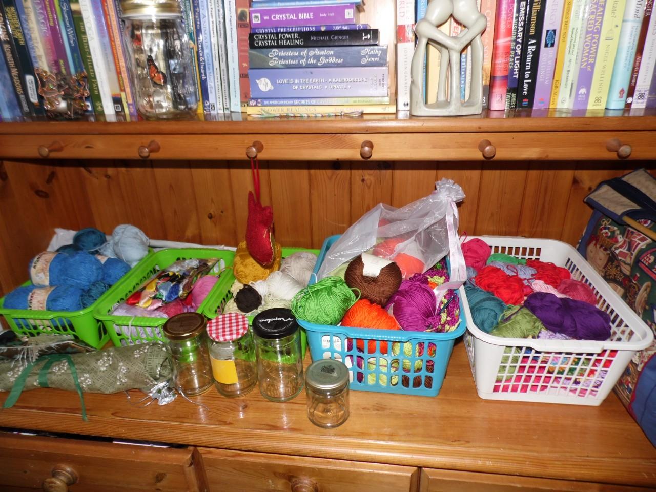 Craft Supply Storage Idea