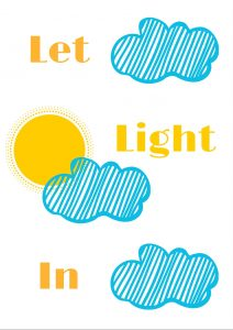 Let Light In Free Printable