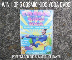 win 1 of 5 cosmic kids yoga dvds