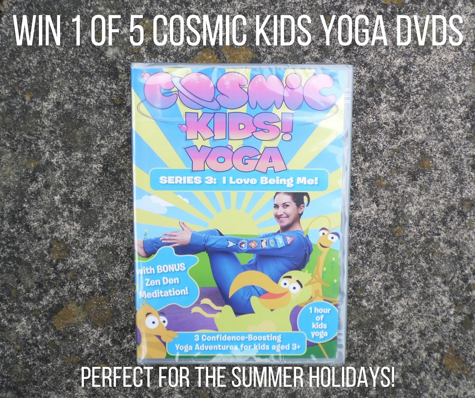 win 1 of 5 cosmic kids yoga dvds