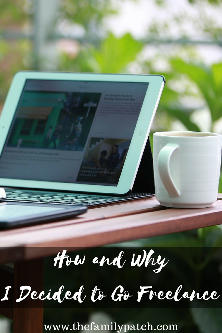 How and Why I Decided to Go Freelance