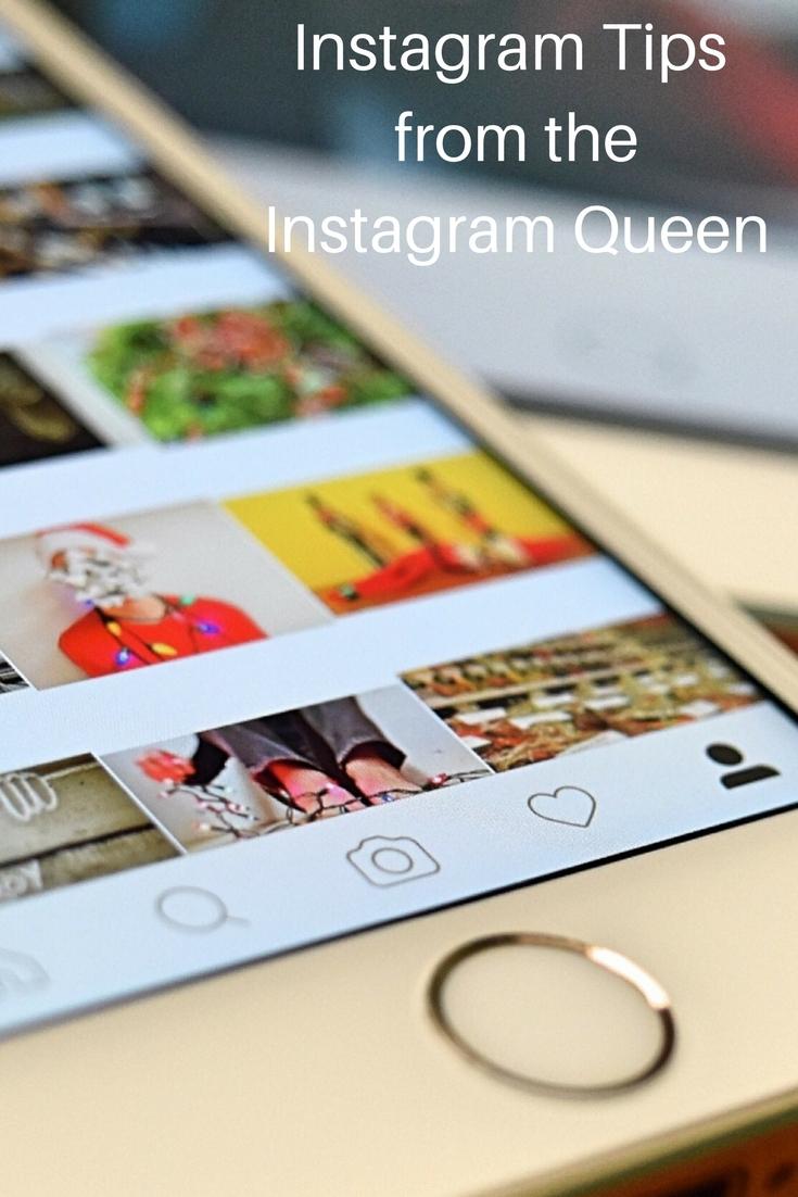 Instagram Tips from the Instagram Queen