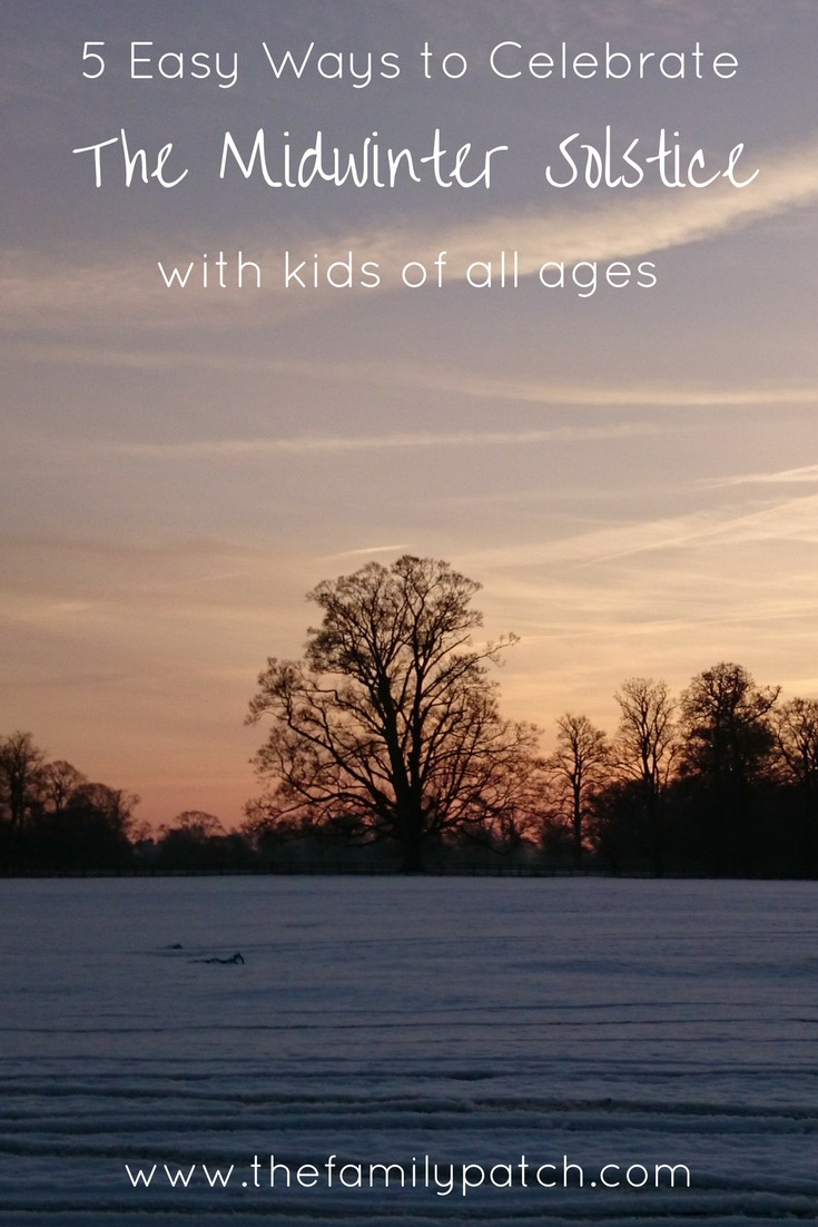 5 Easy ways to celebrate the Midwinter Solstice with Kids