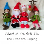 Advent at The North Pole December 5 The Elves Are Singing