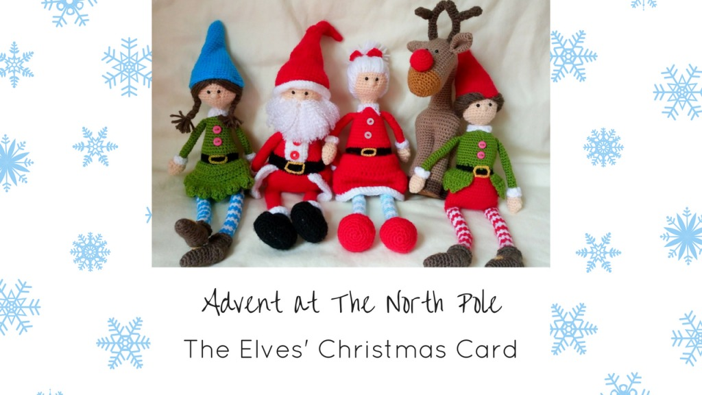 Advent at The North Pole Thumbnails Dec 8th - The Elves' Christmas Card